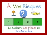 French Rooms and Furniture Interactive Activity, Powerpoint Game