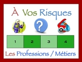 French Jobs and Professions Interactive Activity, Powerpoint Game