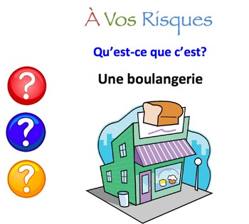French City Locations Interactive Activity, Powerpoint Game