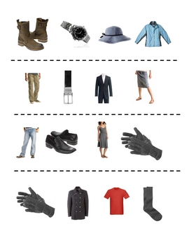 Interactive French Speaking Activity with Clothing Vocabulary