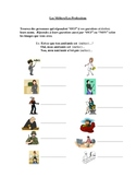 Interactive French Speaking Activity with Jobs/Professions