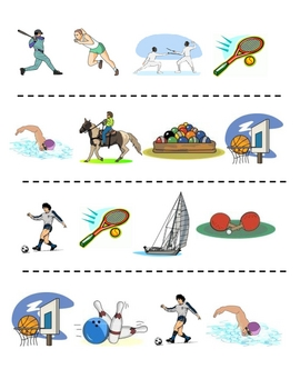 Interactive French Speaking Activity with Sports and Activities