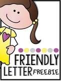 Interactive Friendly Letter Freebie