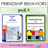 FRIENDSHIP BEHAVIORS Pack 4  {Differentiated Activities For K-5th Grade}