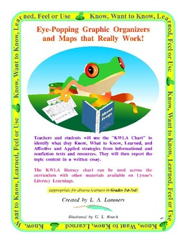 Interactive Frog and More 1st-3rd Grade KWLA Chart