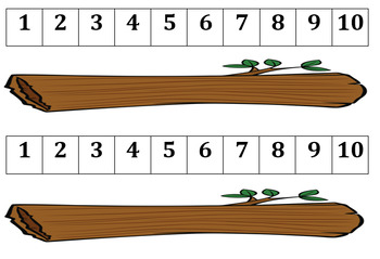 Interactive Frogs on a Log Number Line