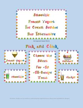 Interactive Frozen Yogurt Smoothie Sundae Bar Party Resource