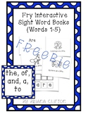 {FREE} Interactive Fry Sight Word Little Readers :: SAMPLE