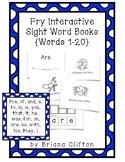 Interactive Fry Sight Word Little Readers {20 Little Reade