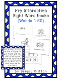 Interactive Fry Sight Word Little Readers {50 Little Reade