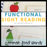 Common Foods Functional Sight Reading