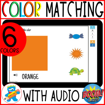 Interactive GAME. Sorting by color.