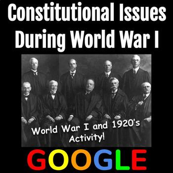 Interactive Gallery: Constitutional Issues During World War I