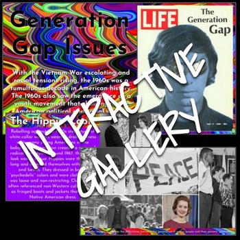 Interactive Gallery: Generation Gap and Culture of the Counterculture of the 60s