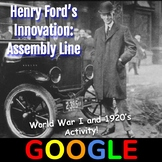 Interactive Image: Henry Ford's Assembly Line