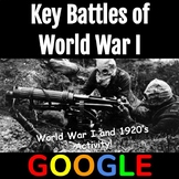 Interactive Map: Key Battles of World War I with Google Form
