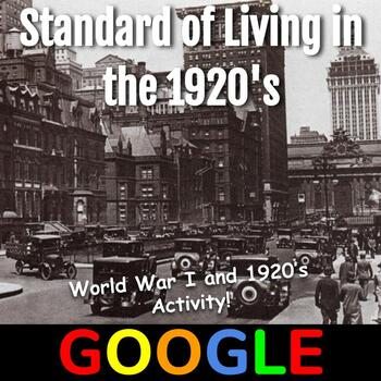 Interactive Gallery: Standard of Living in the 1920's
