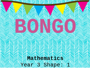 Interactive Game BONGO {Shape edition}
