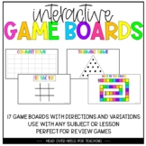 Interactive Game Boards   Boost Engagement With Any Lesson