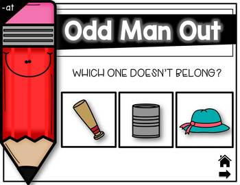 """Interactive Game """"Odd Man Out"""""""