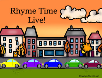 Interactive Game Rhyme Time Live (Google Classroom)