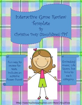 New Interactive Game Template!