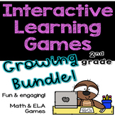 Interactive Games GROWING BUNDLE for 2nd grade!! / Distanc