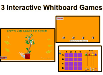 Interactive Games for the Smartboard