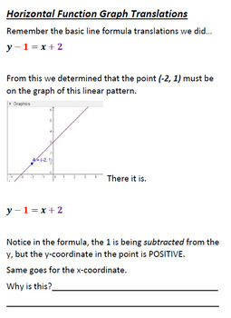 Interactive GeoGebra Files with Guided Questions