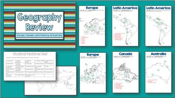 Social Studies Geography CRCT Review - 6th Grade
