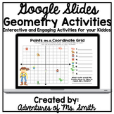 Interactive Geometry Slides for Google Classroom - Distanc