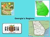 Interactive Georgia's Regions PowerPoint