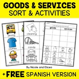 Goods and Services Sort Activities