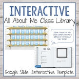 Interactive Google Slide All About Me Template