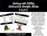 Interactive Google Slides-2 digit addition with regrouping