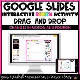 Interactive Google Slides | CHANGES IN MOTION AND POSITION