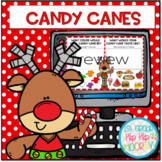 Interactive Google Slides...Candy Canes!