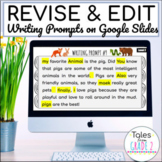 Interactive Google Slides | Digital Revising and Editing Practice