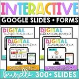 Interactive Google Slides + Self-grading Forms BUNDLE
