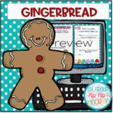 Interactive Google Slides...Gingerbread