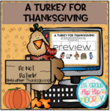 FREE Interactive Google Slides for A Turkey for Thanksgiving!