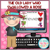 Interactive Google Slides for An Old Lady Who Swallowed a Rose