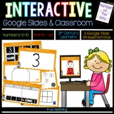 Interactive Google Slides for Distance Learning: Numbers 0-10