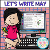 Interactive Google Slides for Let's Write May!