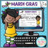 Interactive Google Slides for Mardi Gras!