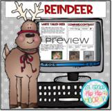 Interactive Google Slides for Reindeer Fun!