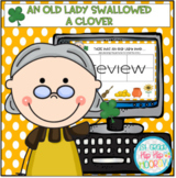 Interactive Google Slides for There Was An Lady Who Swallo