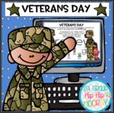Interactive Google Slides for Veterans Day