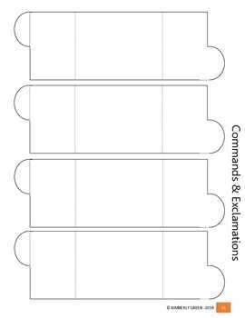 Interactive Grammar Foldables for CCSS