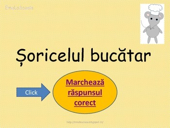 Interactive Grammar Game in Romanian Language